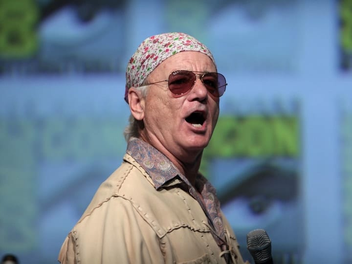 Bill Murray, richest comedians