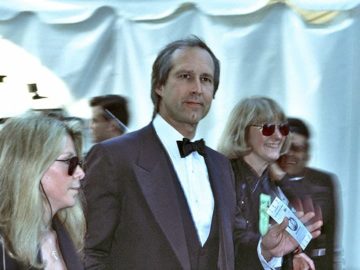 Chevy Chase, richest comedians