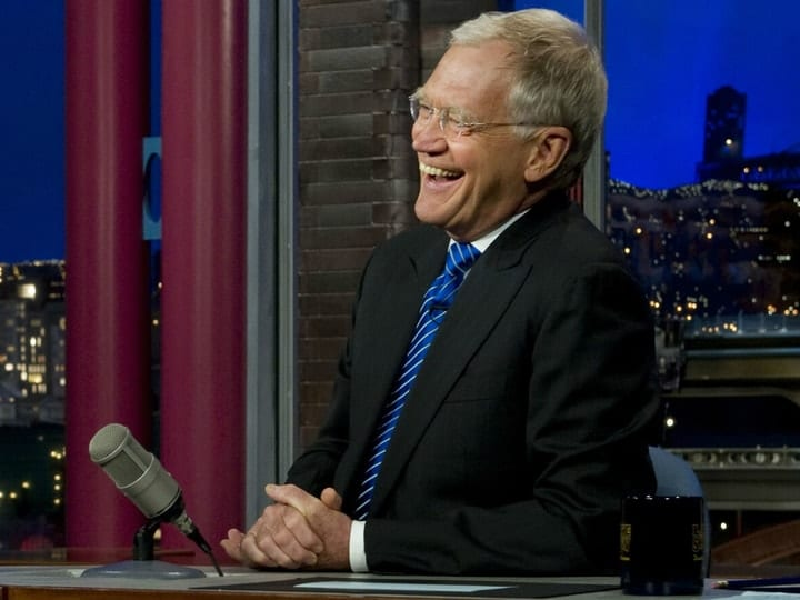 David Letterman, richest comedians