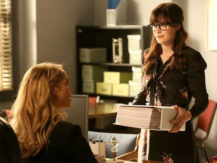 Jessica Day, TV characters salaries