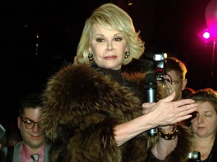 Joan Rivers, richest comedians