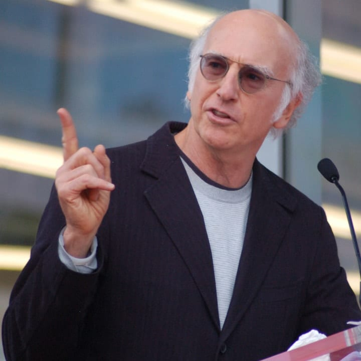 Larry David, richest comedians