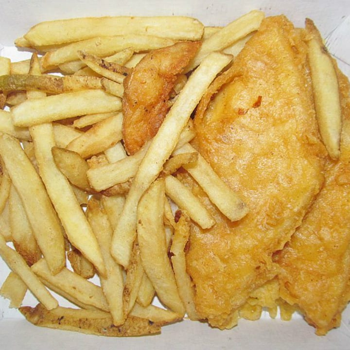 Long John Silver's fish and chips