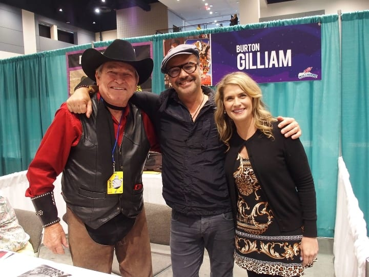 Burton Gilliam, Billy Zane and Kristy Swanson attend the GalaxyCon Raleigh 2019 at Raleigh Convention Center on July 25, 2019 in Raleigh, North Carolina