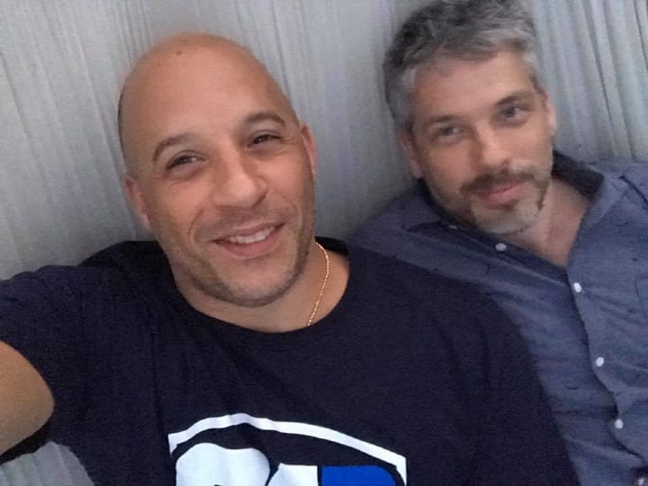 Vin Diesel twin, twin brothers, celebrity twins