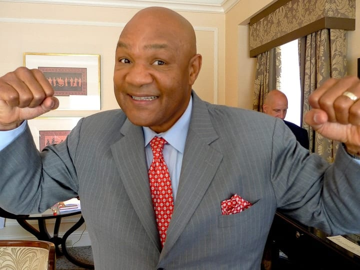 George Foreman, rich religious leaders