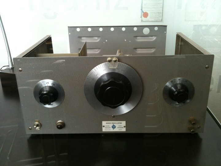 Hewlett-Packard, audio oscillator