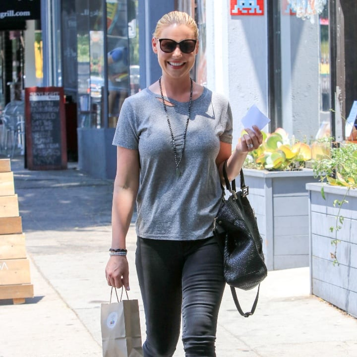 Katherine Heigl is seen on July 11, 2017 in Los Angeles, California.