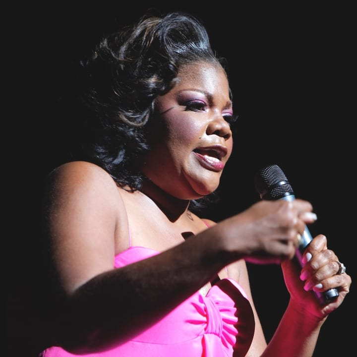 Comedian Mo'Nique performs at the Beacon Theatre on June 28, 2009 in New York City