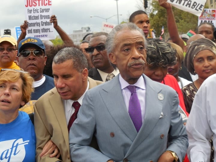 Al Sharpton, rich religious leaders