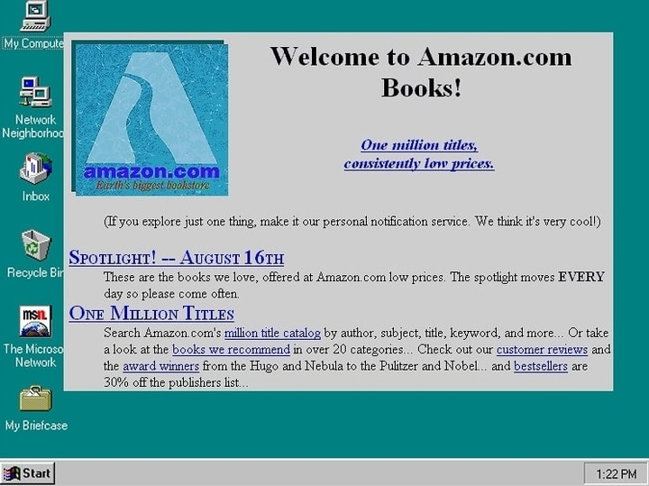 Amazon, books