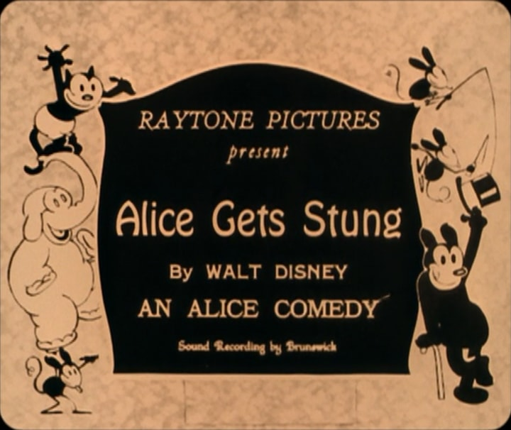 Disney, Alice Comedies