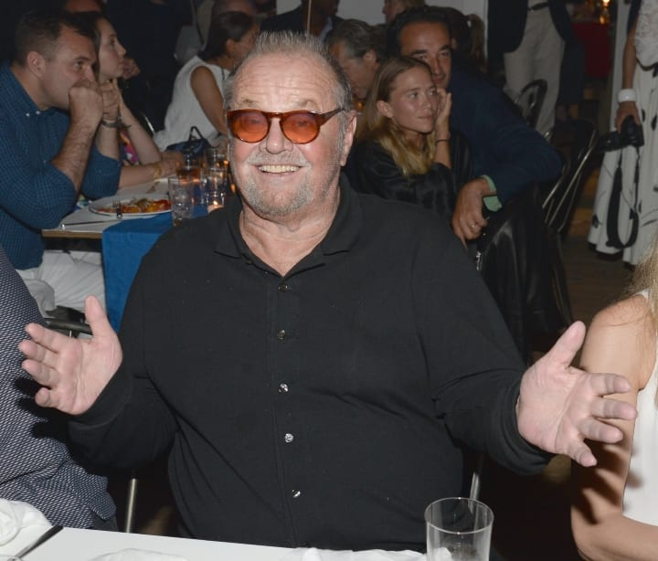 Jack Nicholson attends Apollo in the Hamptons 2015 at The Creeks on August 15, 2015 in East Hampton, New York.