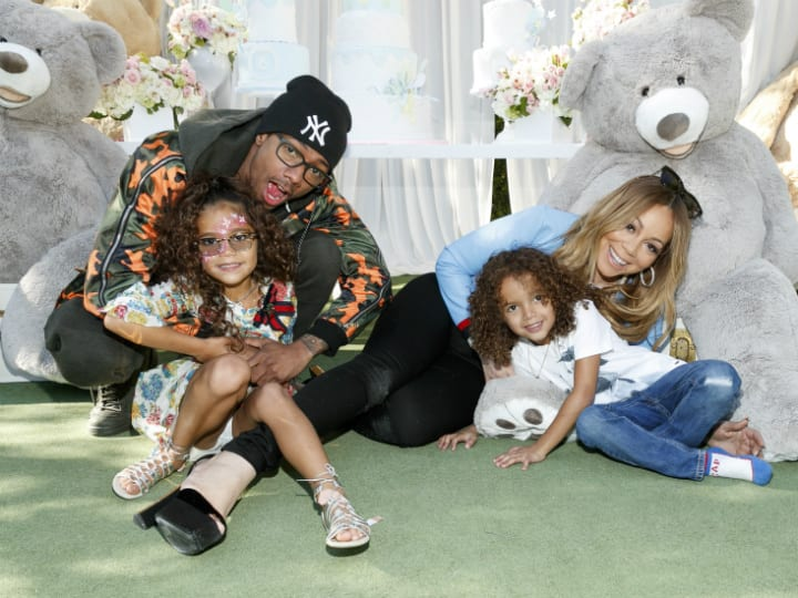 mariah carey nick cannon and twins
