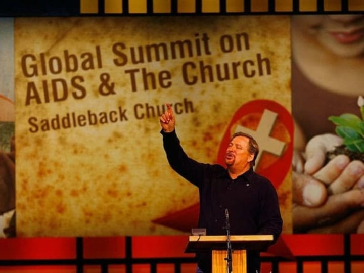 Rick Warren, rich religious leaders