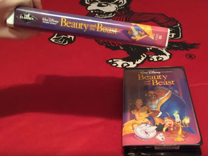 Beauty and the Beast, most valuable VHS