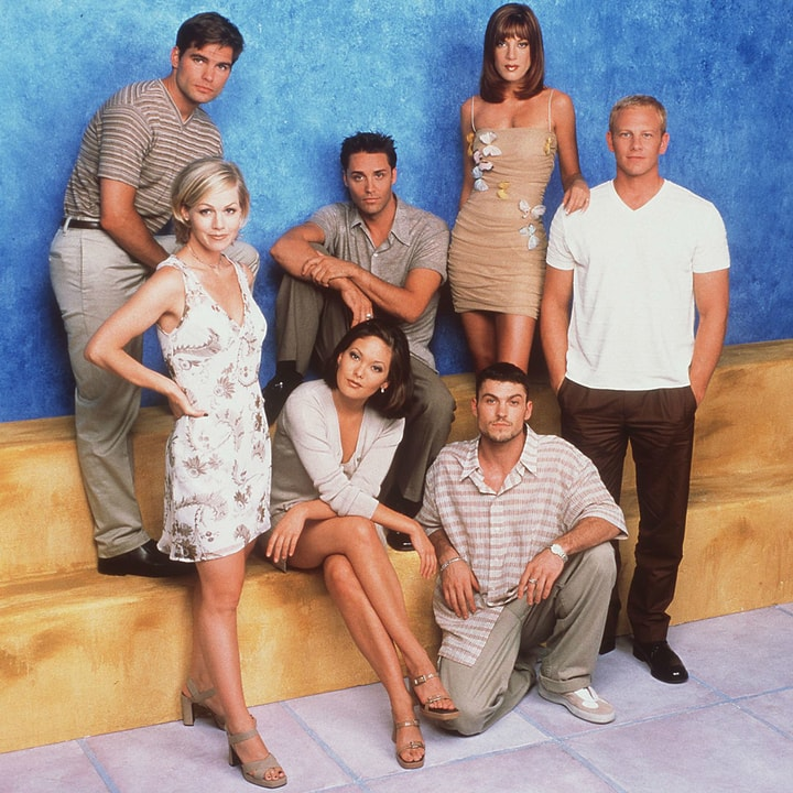 Beverly Hills 90210, behind the scenes