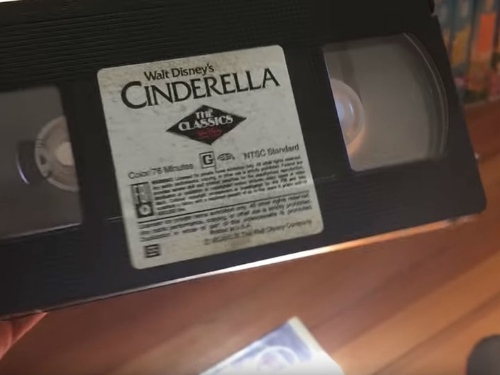 Cinderella, most valuable VHS