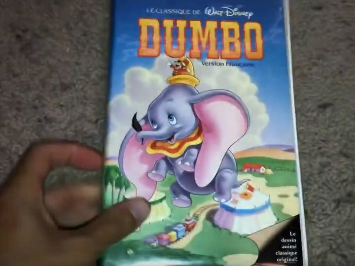 Dumbo, most valuable VHS