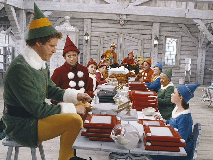 Elf, highest earning holiday movies