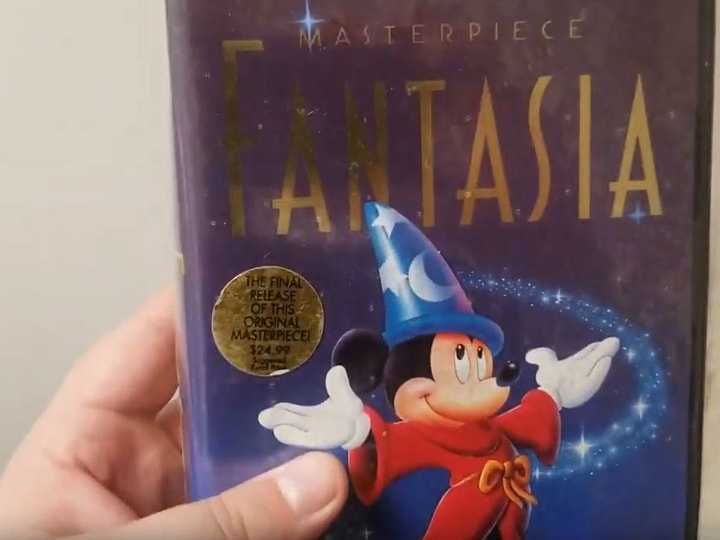 Fantasia, most valuable VHS