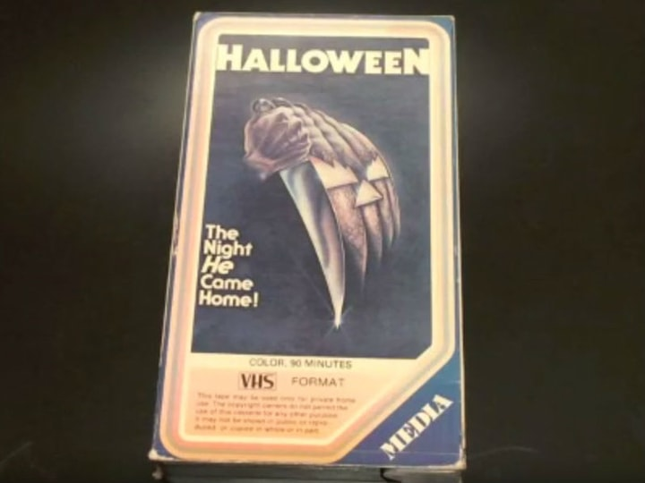 Halloween, most valuable VHS