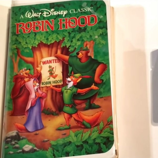Robin Hood, most valuable VHS