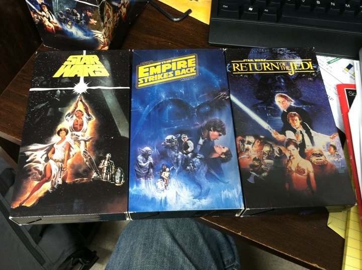 Star Wars, most valuable VHS