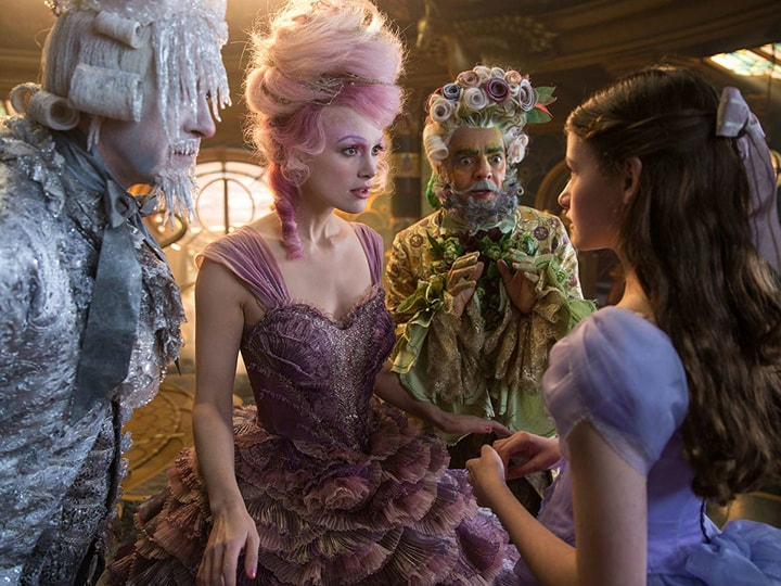 The Nutcracker and the Four Realms, highest earning holiday movies