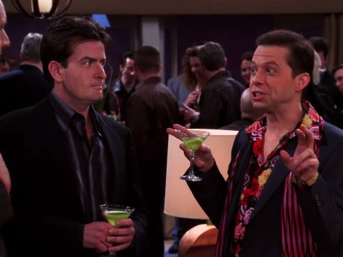 How much Charlie Sheen and Jon Cryer make off reruns Two and a Half Men
