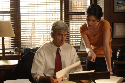 How much Sam Waterston make off reruns Law and Order