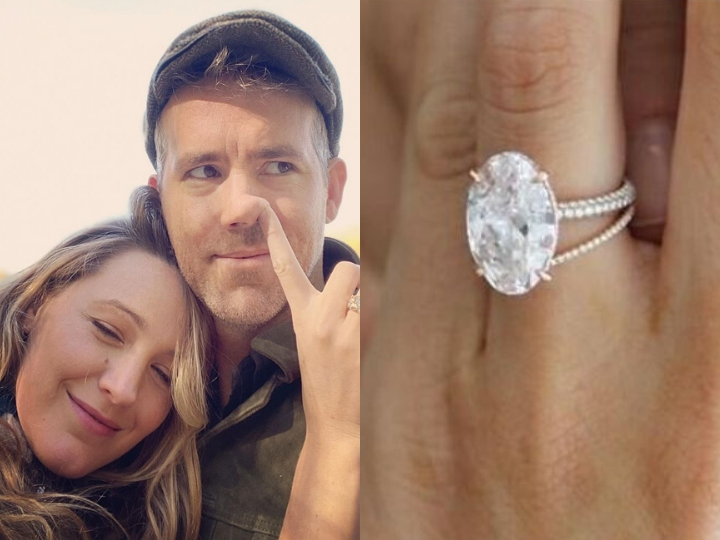 Blake Lively, Ryan Reynolds, engagement ring, expensive rings