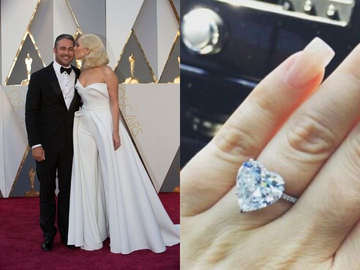 Lady Gaga, Taylor Kinney, engagement rings, expensive