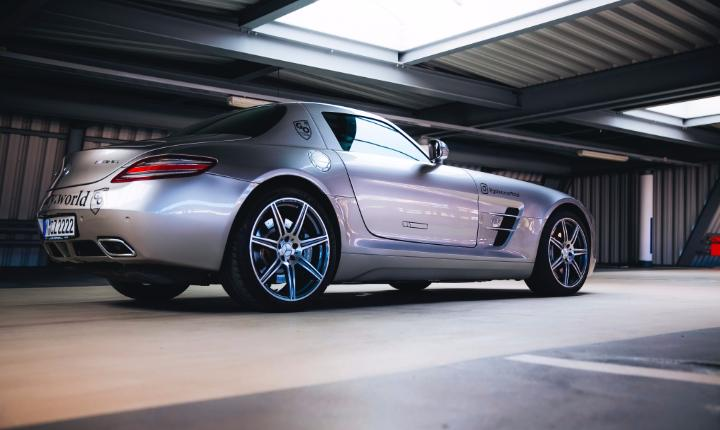 Mercedes-Benz SLS AMG sports car