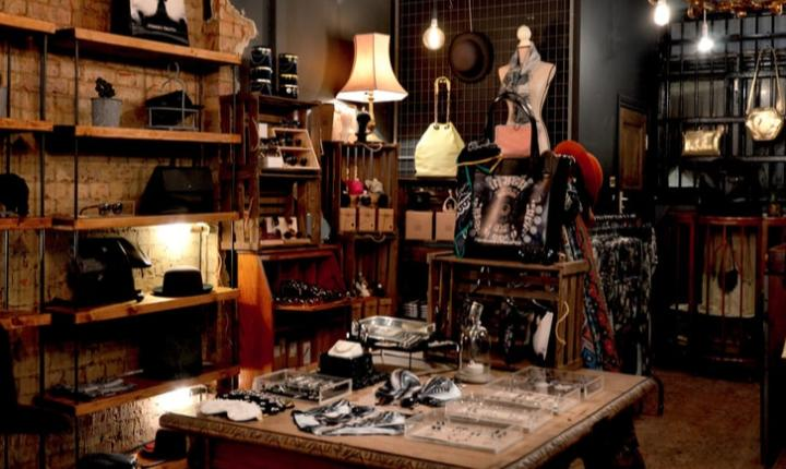 Vintage accessory store
