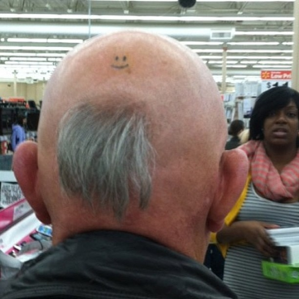 People of Walmart, goatee