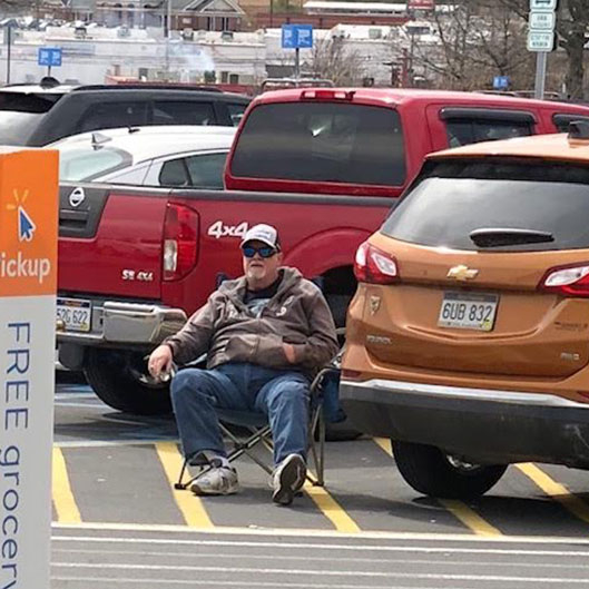 Walmart tailgater, people of Walmart