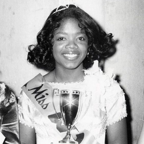 Oprah, young, success, rough times turned around