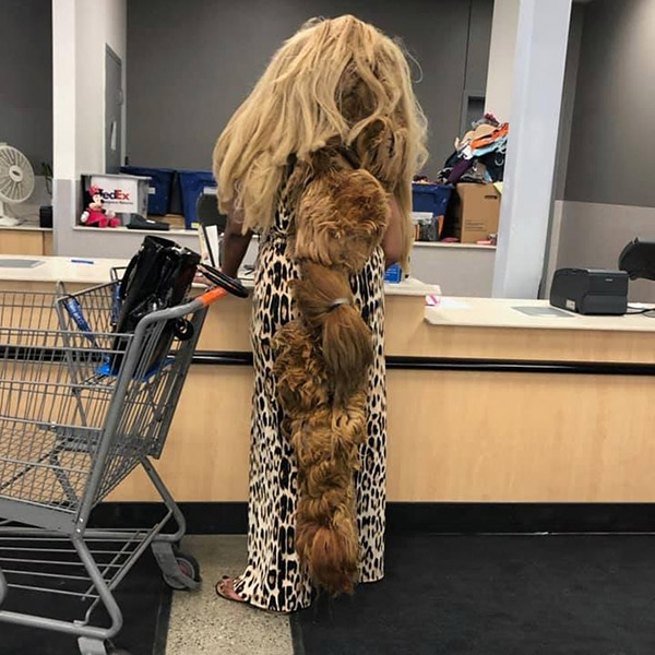 People of Walmart, bad hair