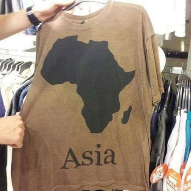 funny shirt, geography fail