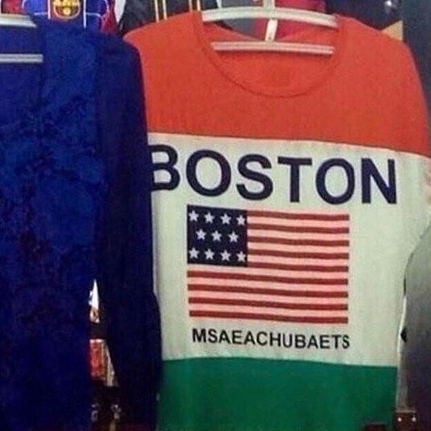 Boston shirt