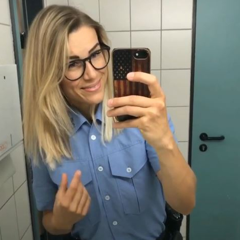 Germany's hottest cop