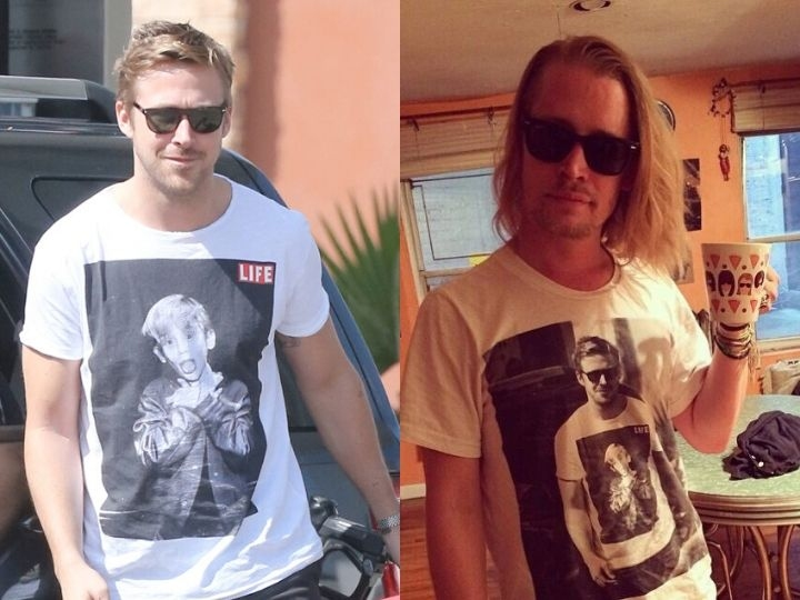Ryan Gosling and McCaulay Culkin