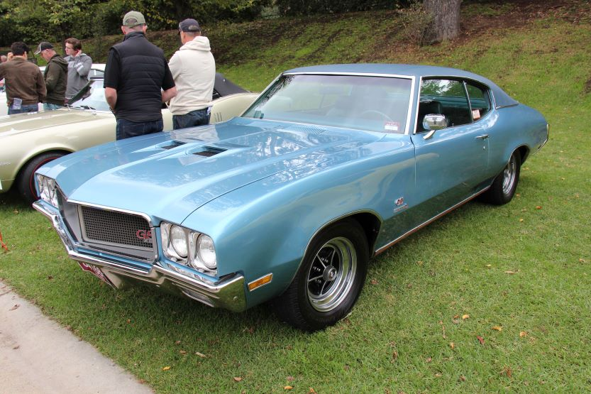 classic american muscle cars buick gsx