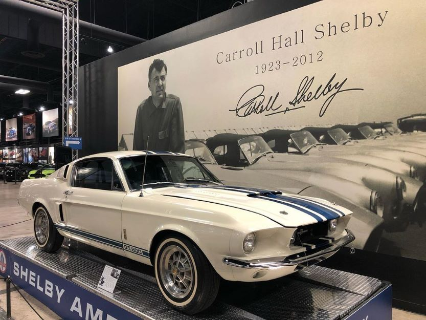 classic american muscle cars Shelby Mustang GT