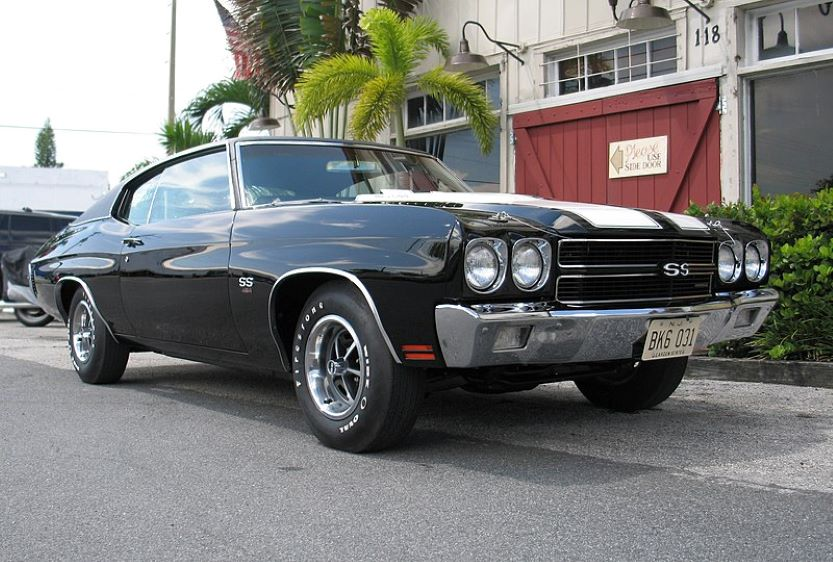 classic american muscle cars Chevelle
