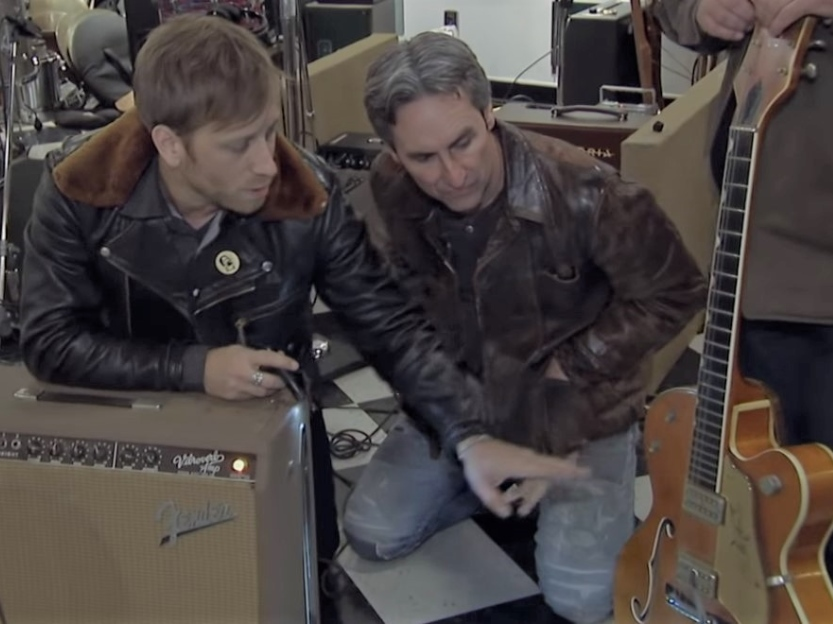 black keys american pickers