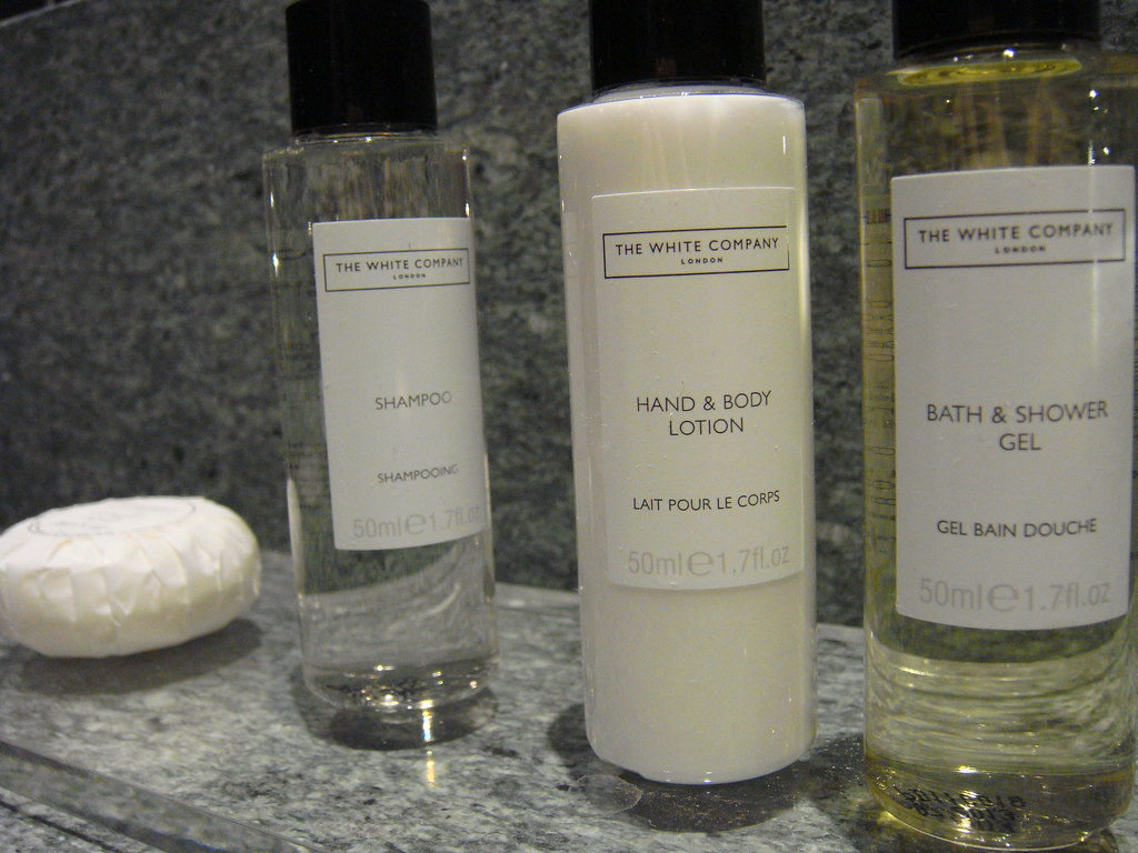 hotel hacks, take the hotel shampoo bottles with you